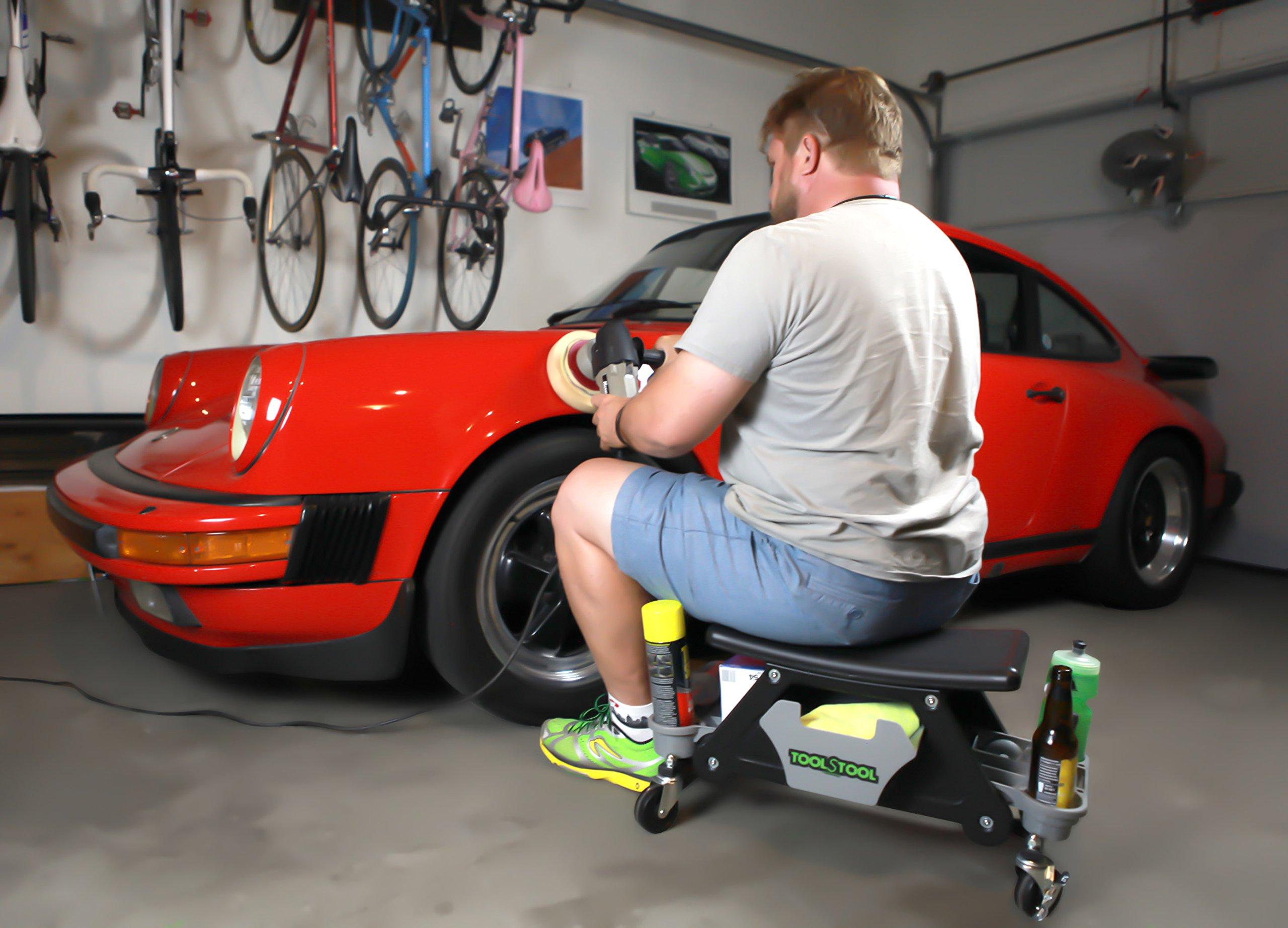 Boomerang ToolStool Roller-Seat Shop-Cart by Boomerang (Image #6)