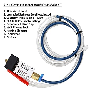 Authentic Creality All Metal Hotend Kit completo de actualización ...