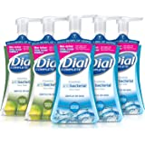 Dial Complete Antibacterial Foaming Hand Soap, 2-Scent Variety Pack, 7.5 Fluid Ounces Each (Pack of 5)