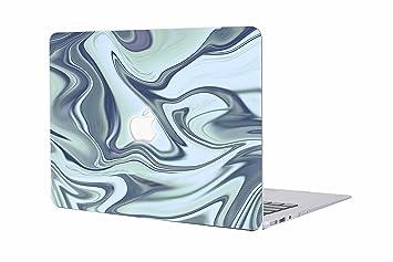 Funda MacBook Pro 15 - AQYLQ Carcasa Macbook Pro 15 Retina [Mármol Colorido] Funda rígida para MacBook Pro Retina 15 Pulgadas (A1398), Azul Mármol 57