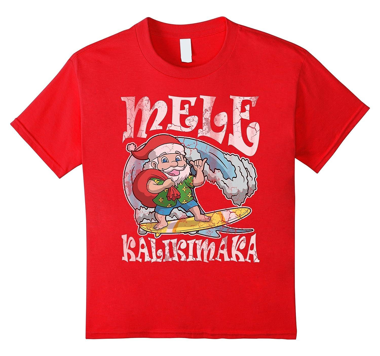 Christmas Kalikimaka Santa Hawaii Shirt-Awarplus