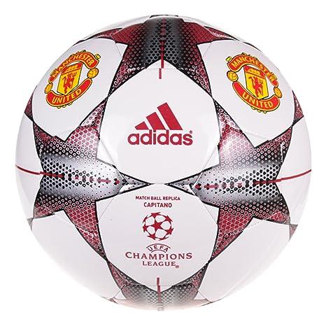 adidas Finale 15 Manchester United FC - Pelota de fútbol, Talla 5 ...