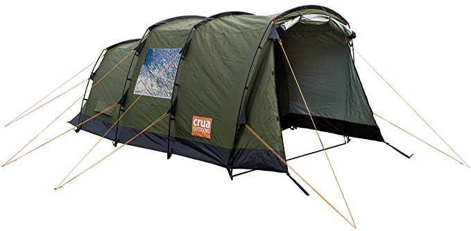Crua Tri Luxury Winter Tent: Spacious 3 Person Family Tent | Unique Thermo Insulated Design | Waterproof Glamping in All 4 Seasons Weather
