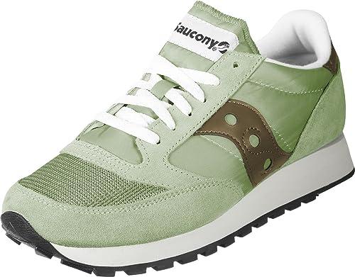 save off b0d87 e8ce6 Sneaker Saucony Jazz Original Vintage Olive 40 Verde  Amazon.it  Scarpe e  borse