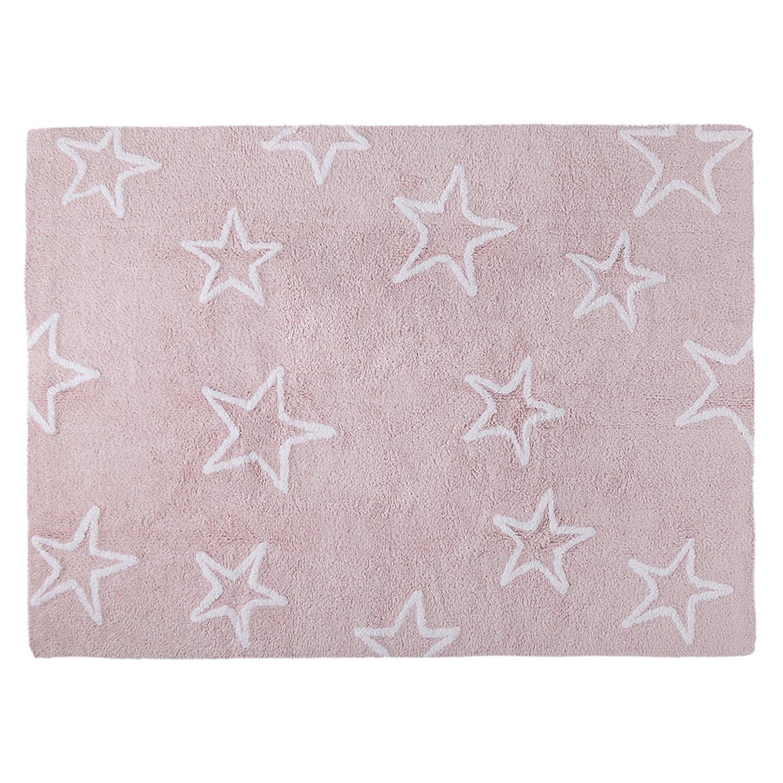 Lorena Canals Estrellas Washable Rug (Pink) Estrellas Pink C-44401