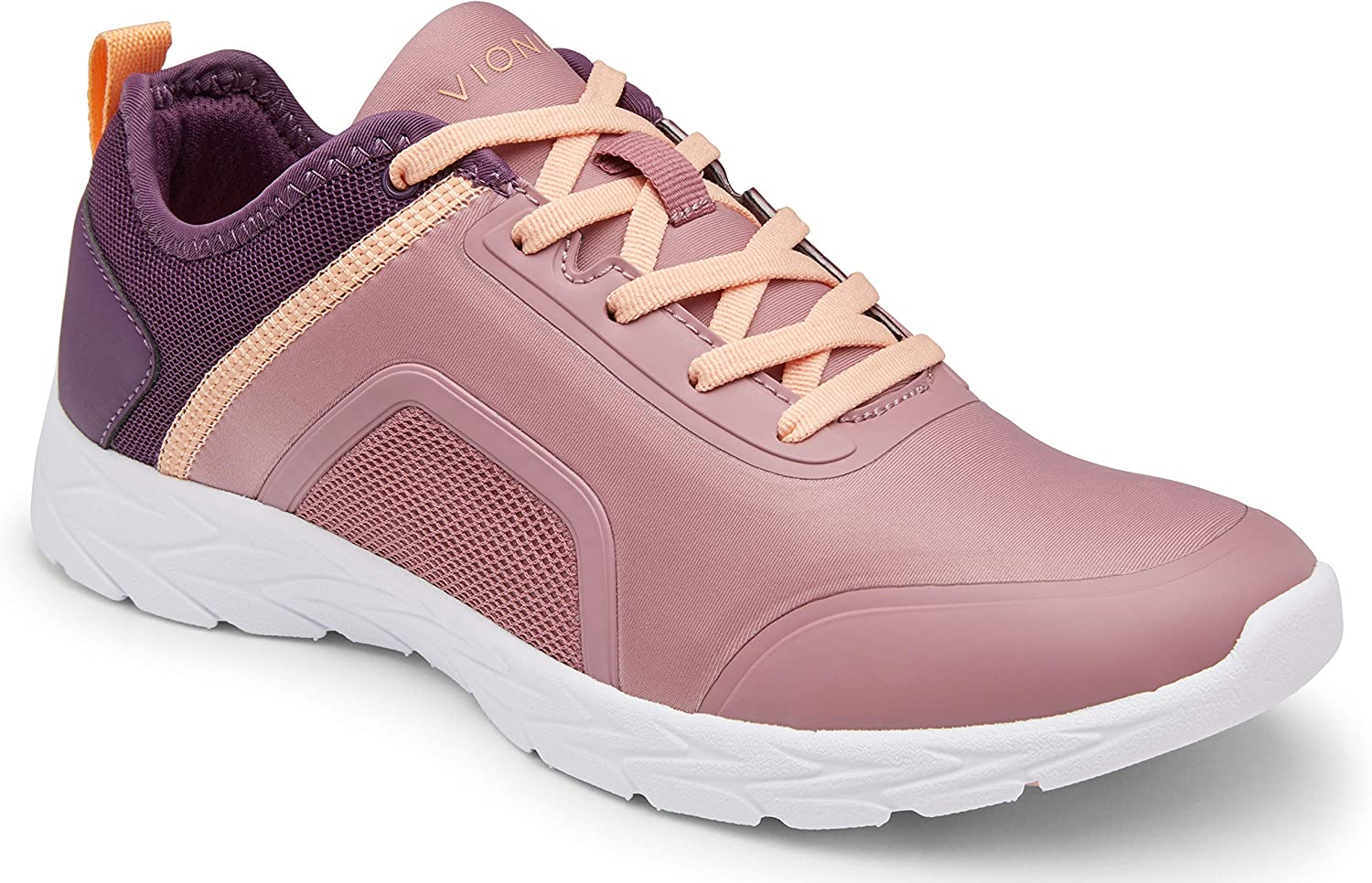 Vionic Women's Brisk Maya Walking Shoes- Ladies Everyday Sneaker with Concealed Orthotic Arch Support