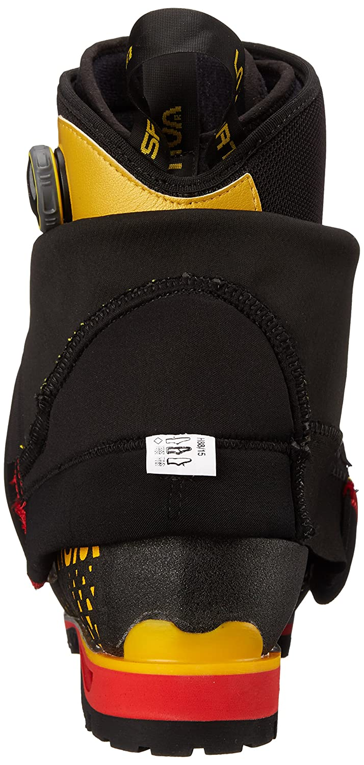 La Sportiva G2 SM Boot Men's Mountain Climbing Mountaineering Boot SM B00QUO2TUO 50 M EU|Black/Yellow 126353