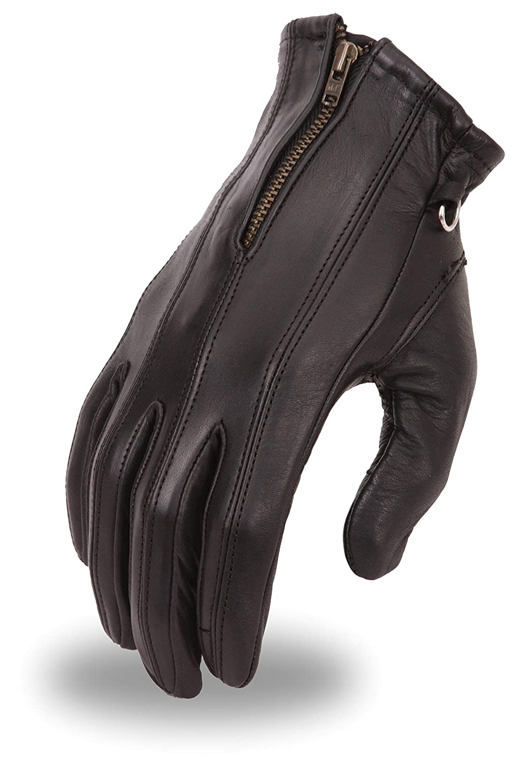 First Mfg Co FI118GEL-XL Black X-Large Womens Gel Palm Driving Gloves First Manufacturing