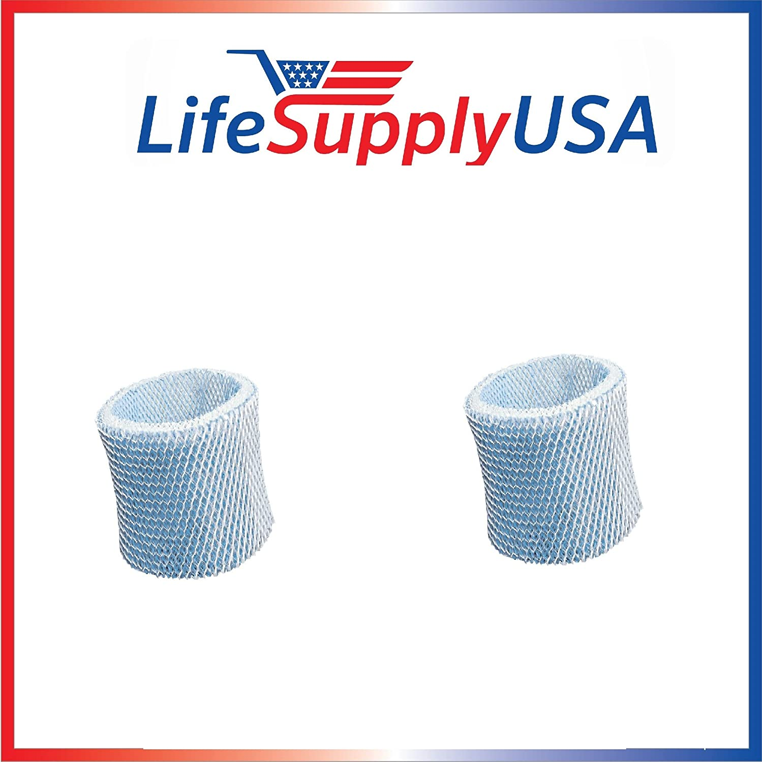 LifeSupplyUSA 2 Pack Humidifier Replacement Filter Compatible with Graco 4 Gallon Model 2H02 2H03 and Compatible with Hamilton Beach TrueAir 05520 05521 05920