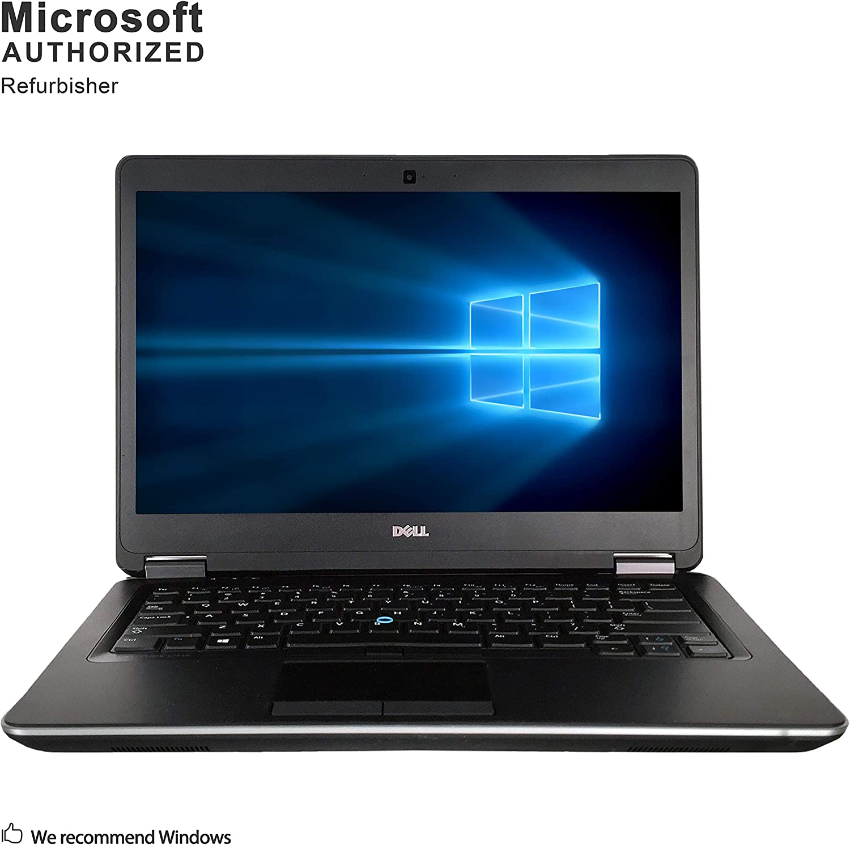 Dell Latitude E7440, Intel Core I7 4600U Upto 3.3GHz, 8G DDR3L, 512G SSD, Mini DP, HDMI, USB 3.0, WiFi, BT 4.0, 14inch, Win10 64 Bit-Multi-Language(CI7)(Certified Refurished)