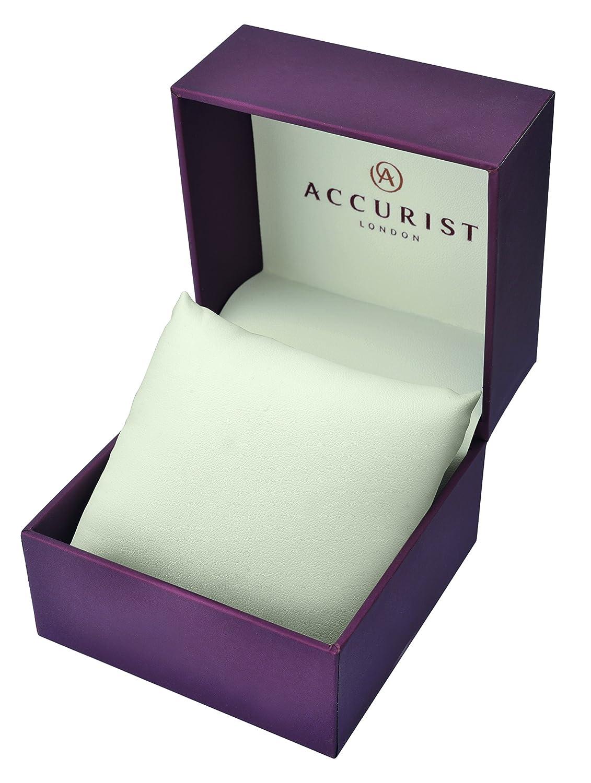 Accurist herr Stainless Steel Case/Bracelet/Chronograph