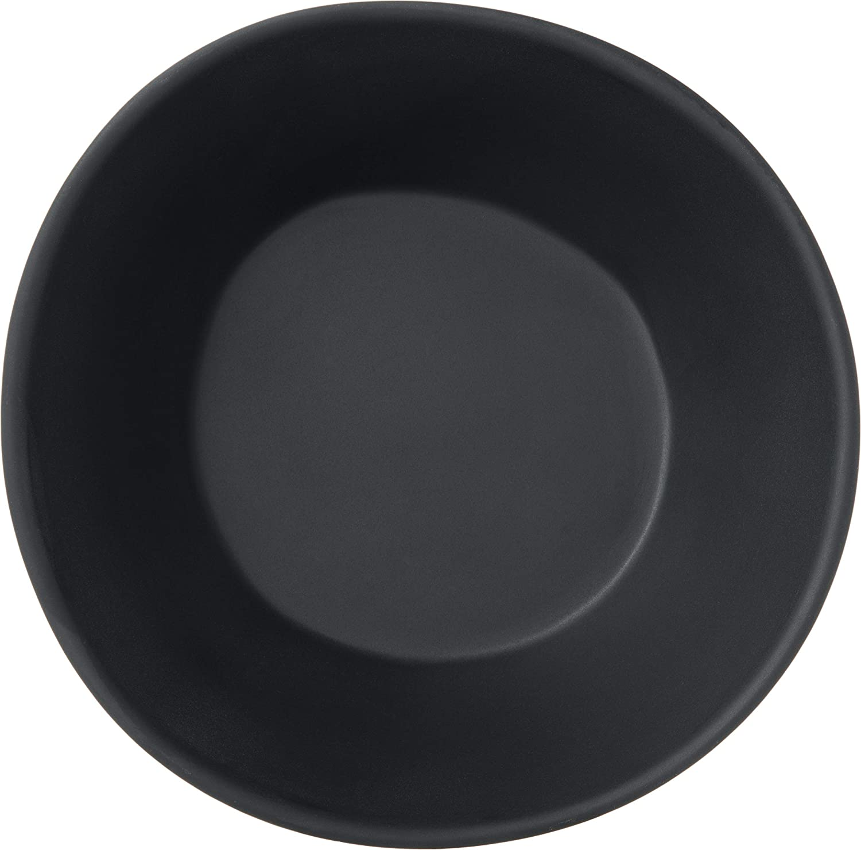 11 Carlisle 5310537 Ridge Melamine Rimless Plate Pack of 12 Marble