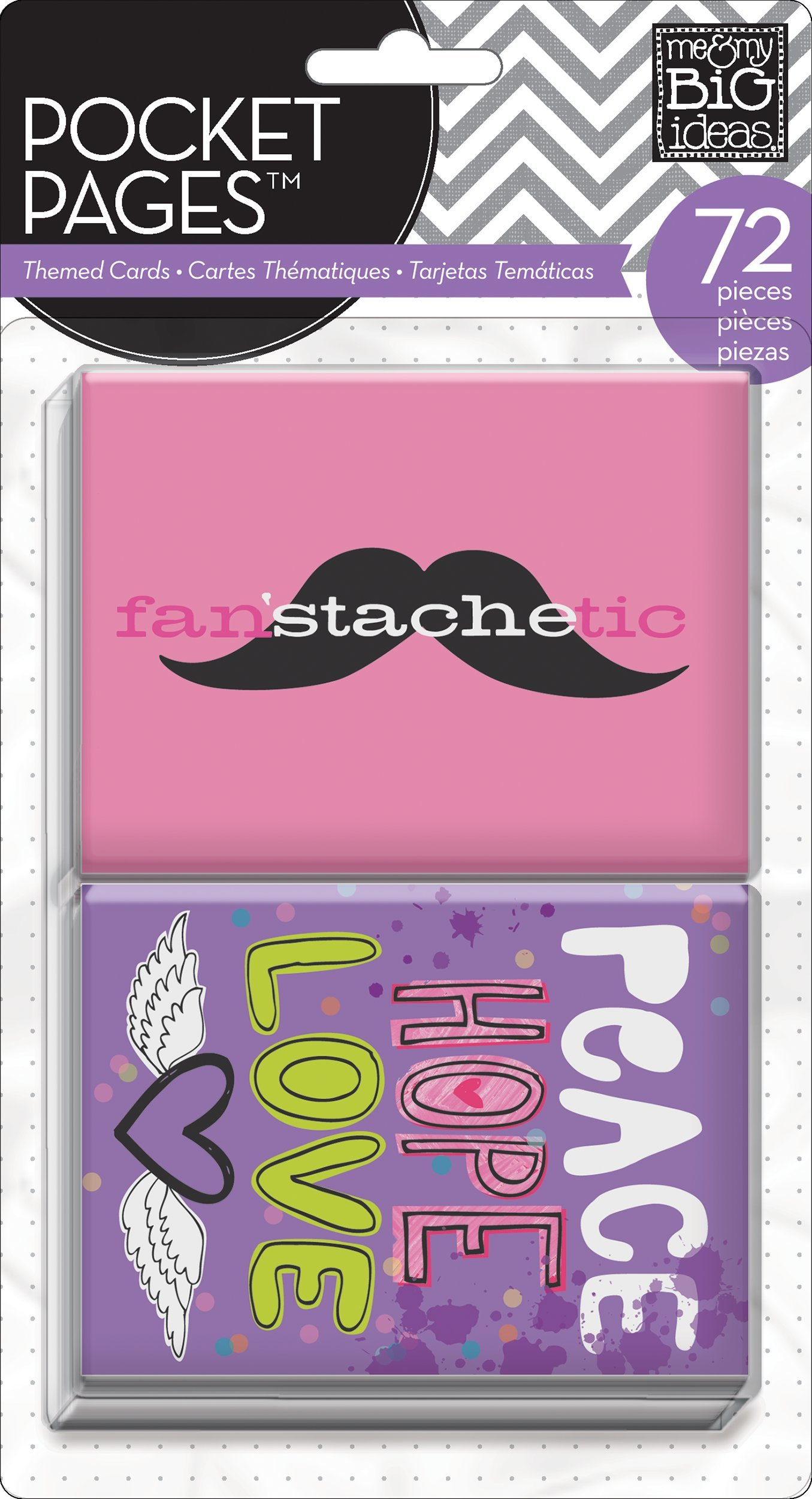 me & my BIG ideas Pocket Pages Journaling Cards, Tween