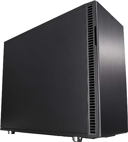 Fractal Design Define R6 EATX Aluminio Cepillado PC Caso – Negro ...