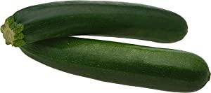 Black Beauty Zucchini Seeds - Non-GMO - 7 Grams, Approximately 60 Seeds