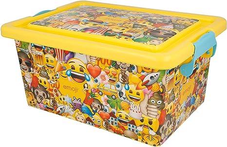 Stor Caja ALMACENAJE 7 L | Emoji: Amazon.es: Hogar