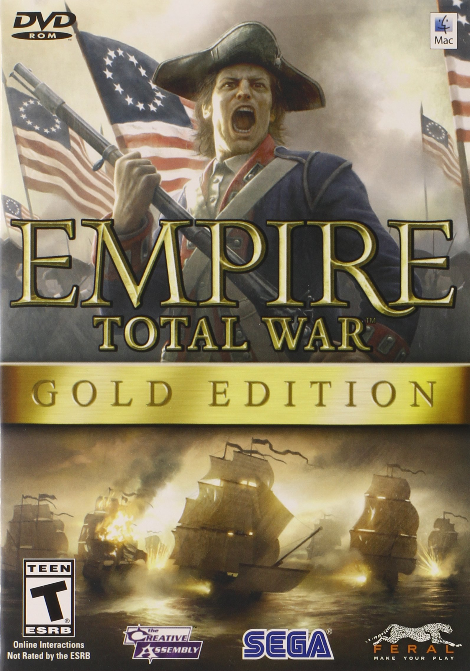 Empire: Total War - Gold Edition - Mac by Feral Interactive