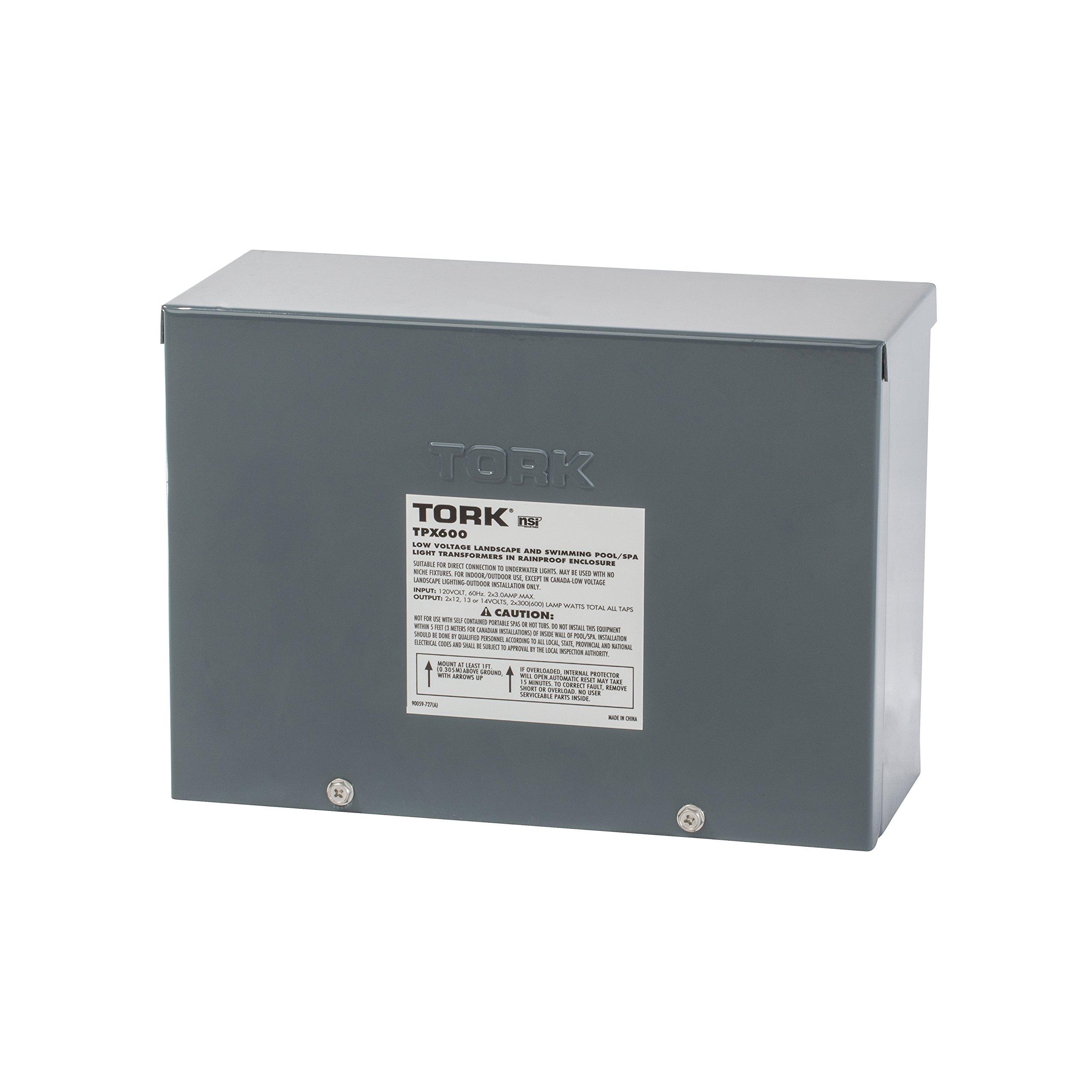 NSi Industries TPX600 Pool Light Transformer, 600W
