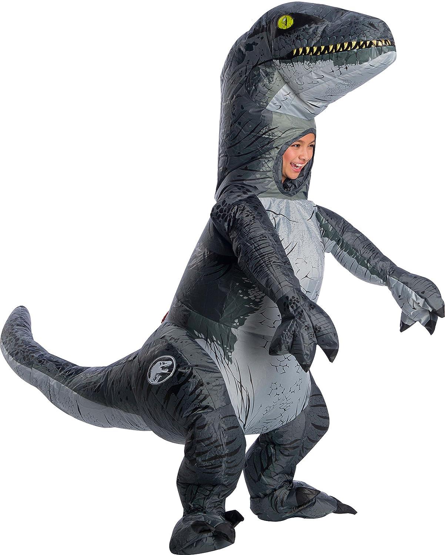 Rubie's Jurassic World: Fallen Kingdom Child's Velociraptor Inflatable Costume With Sound