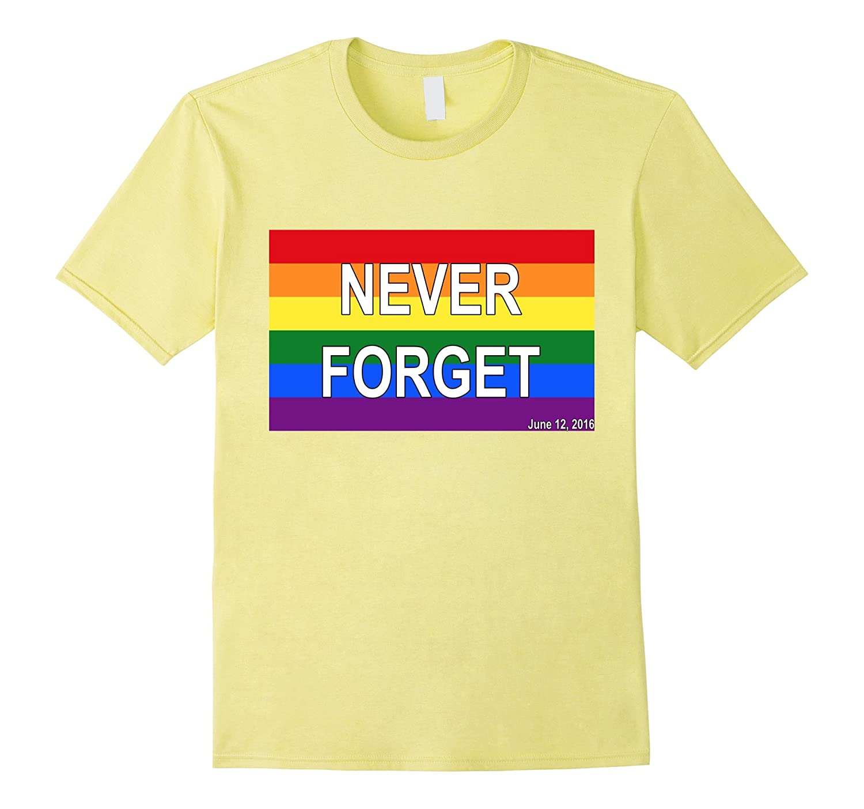 WITM Never Forget Gay Flag June 12, 2016 Orlando FL T-Shirt-Art