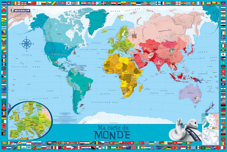 Carte Du Monde Map.Ma Carte Du Monde Enfants Amazon Ca Collectif Books