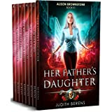 Alison Brownstone Omnibus #1 (Books 1-8): Her Father's Daughter, On Her Own, My Name is Alison, The Family Business, The Brow