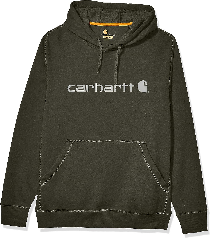 Carhartt Force Delmont Graphic Hooded Sweatshirt Sudadera con Capucha para Hombre