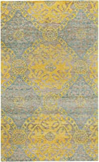 """product image for Capel Round About-Ring Leader Honey 9' 0"""" x 12' 0"""" Rectangle Hand Knotted Rug"""