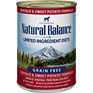 Natural Balance Limited Ingredient Diets Wet Dog Food Buffalo & Sweet Potato