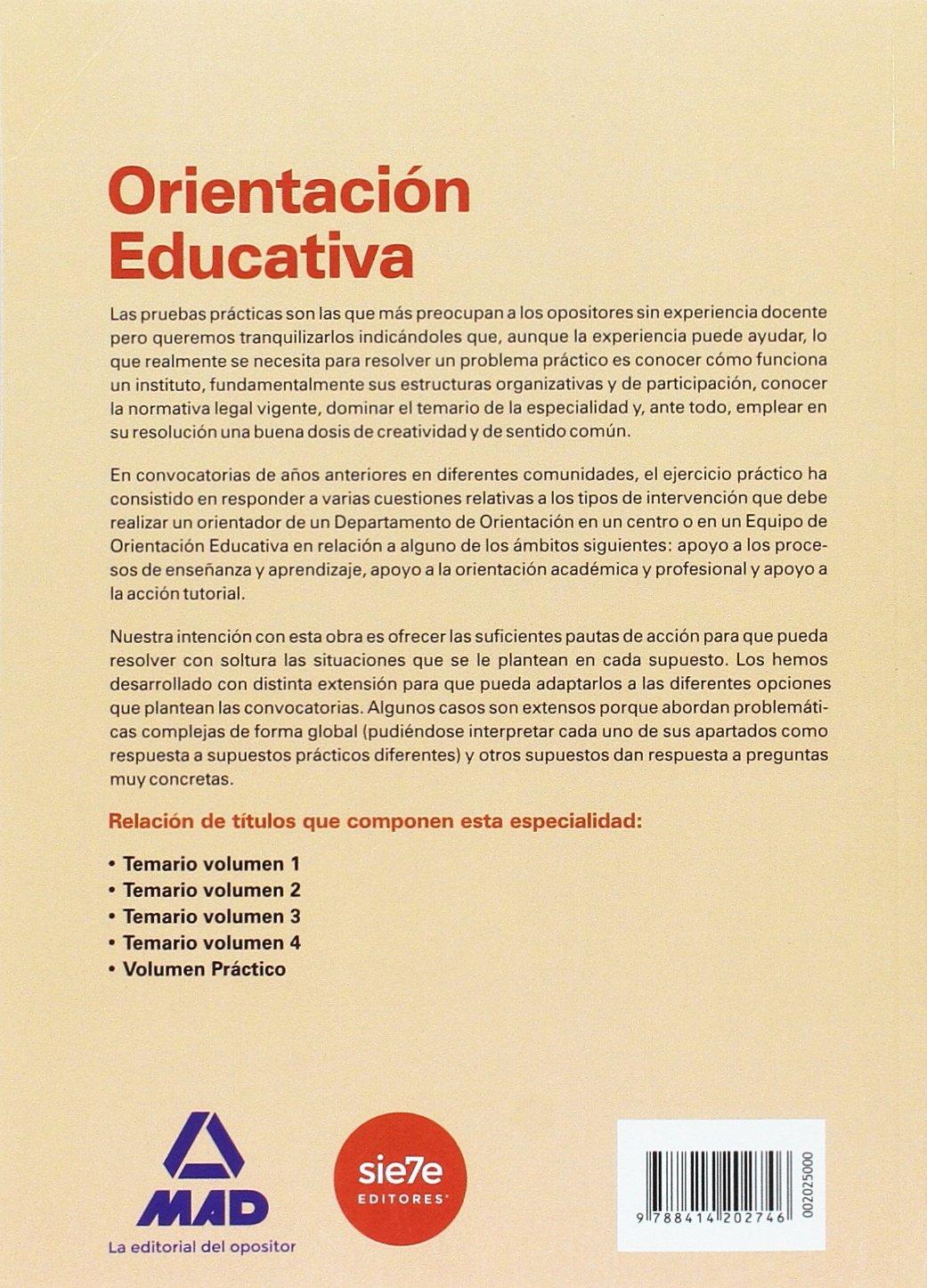 Cuerpo de Profesores de Enseñanza Secundaria Orientación ...