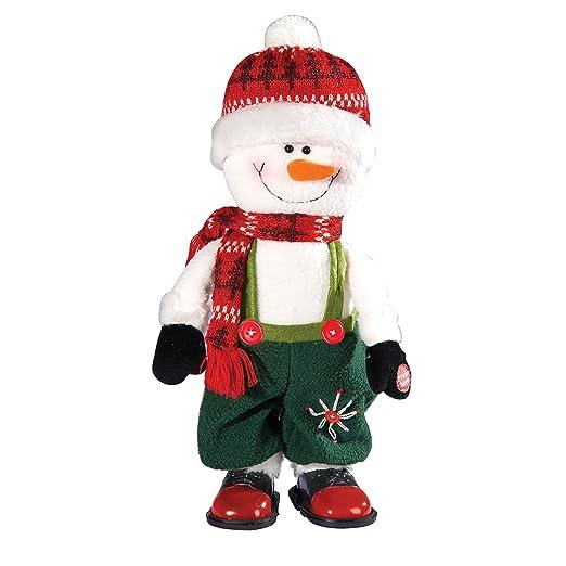 Amazon.com: Musical Dancing muñeco de nieve fiestas de ...