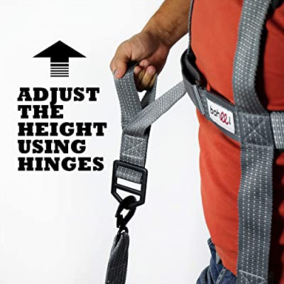 Baheel Professional Movers Tool - Shoulder Carrying Strap - Furniture Moving Tools - Lifting and Moving System - Hands Free - Safe Easy Moving: Automotive