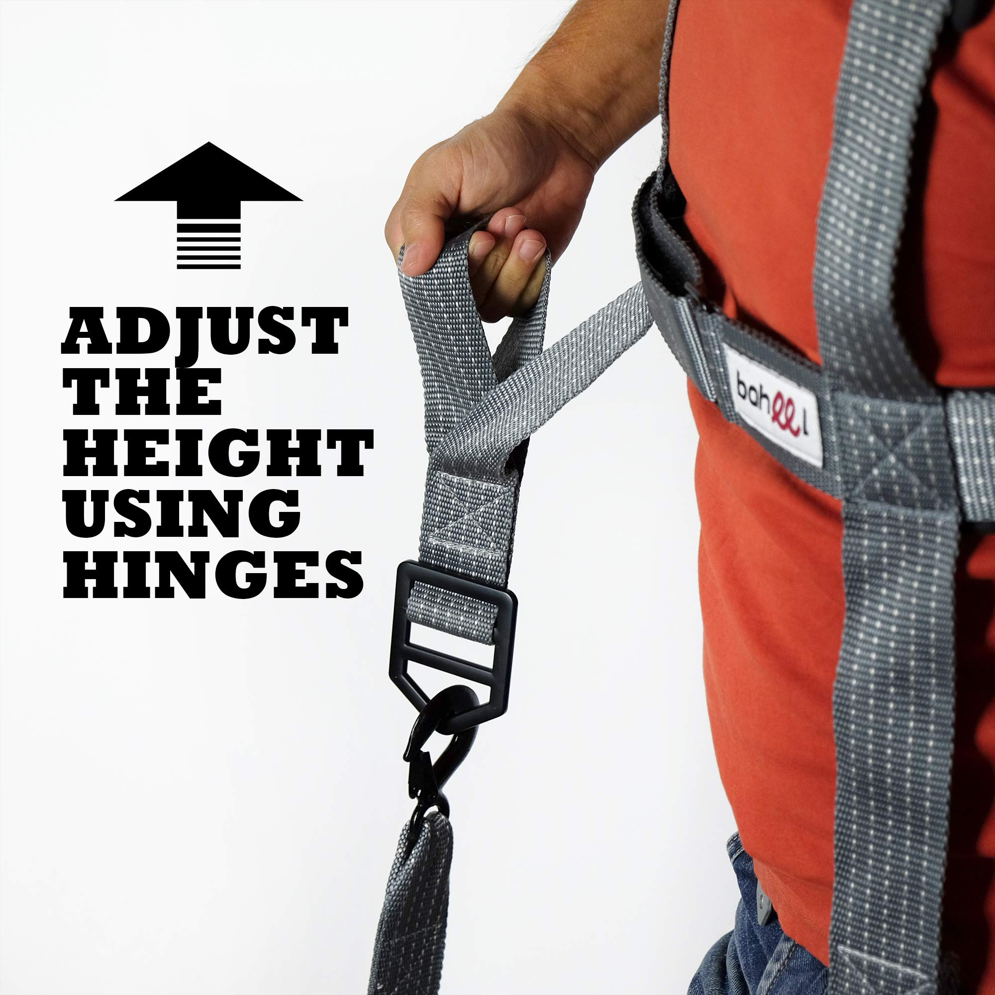 Professional Movers Tool - Shoulder Carrying Strap - Furniture Moving Tools - Lifting and Moving System - Hands Free - Safe Easy Moving