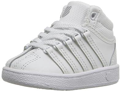 the latest da168 79c4b K-Swiss Kids' Classic VN Mid Sneaker: Amazon.co.uk: Shoes & Bags