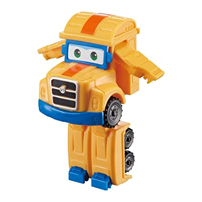 "Super Wing Series 2 Transform A Bots Poppa Wheel 2"" Transforming Figure [EU720025]: Electronics"