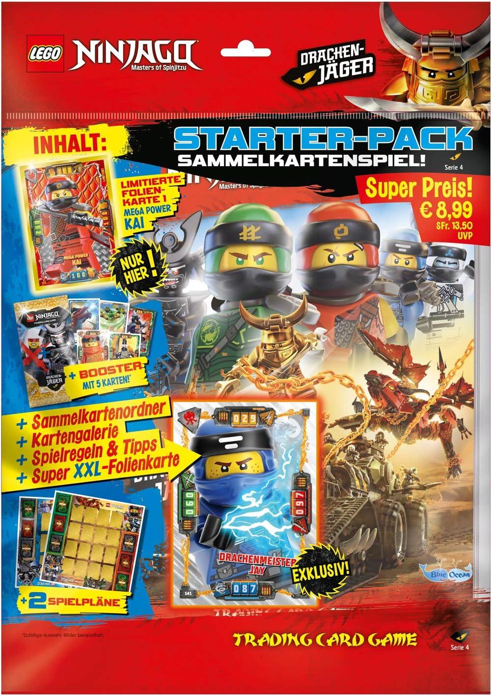Blue Ocean LEGO ® Ninjago série 3//Pack de démarrage Classeur Game cartes dossier