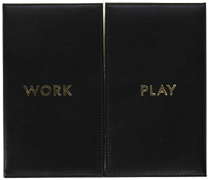 Desktop Weekly Calendar and Folio, Work and Play: Amazon.es ...