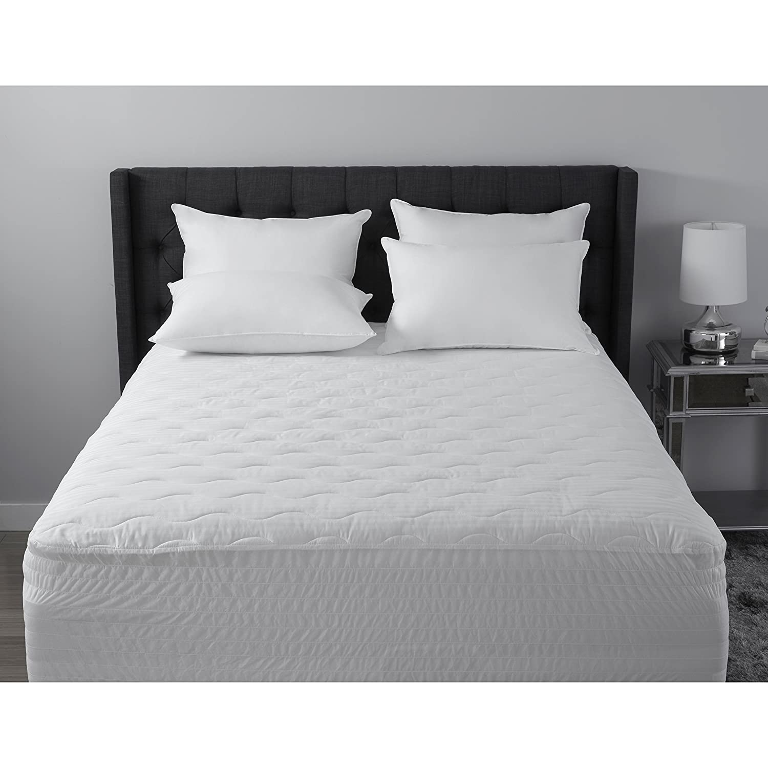 Croscill 500 Thread Count Egyptian Cotton Mattress Pad Queen