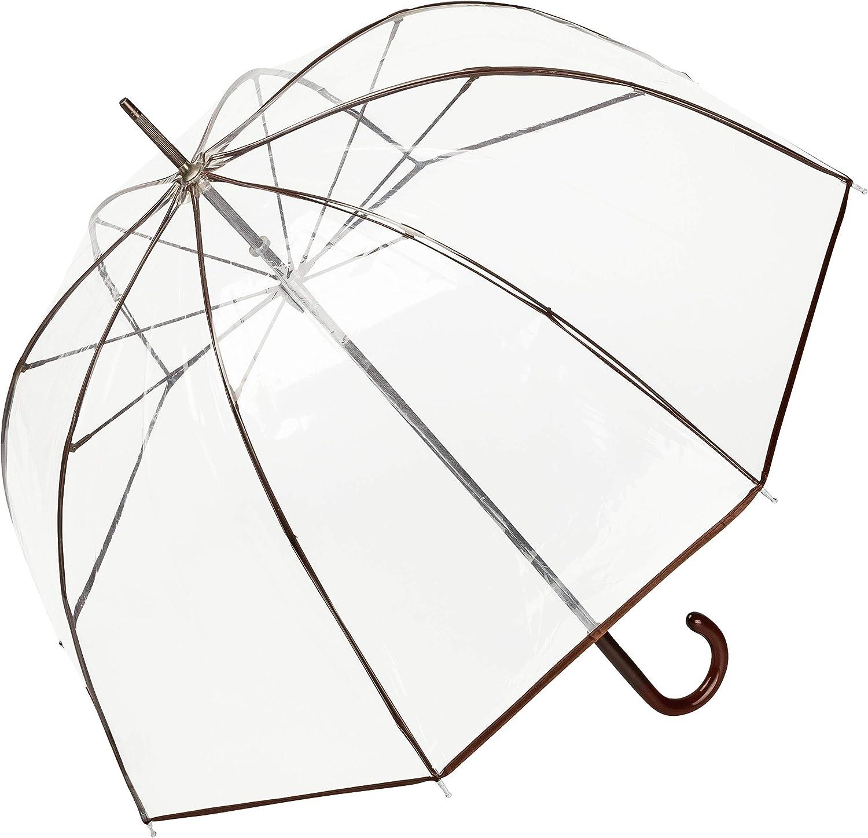 VON LILIENFELD/® Umbrella Transparent Clear Bell-Shape Women Men Melina Clear