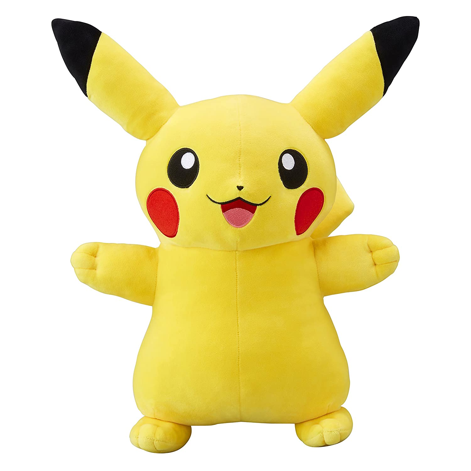 Amazon Pokemon Center Original Stuffed Life Size Pikachu Smile Toys Games