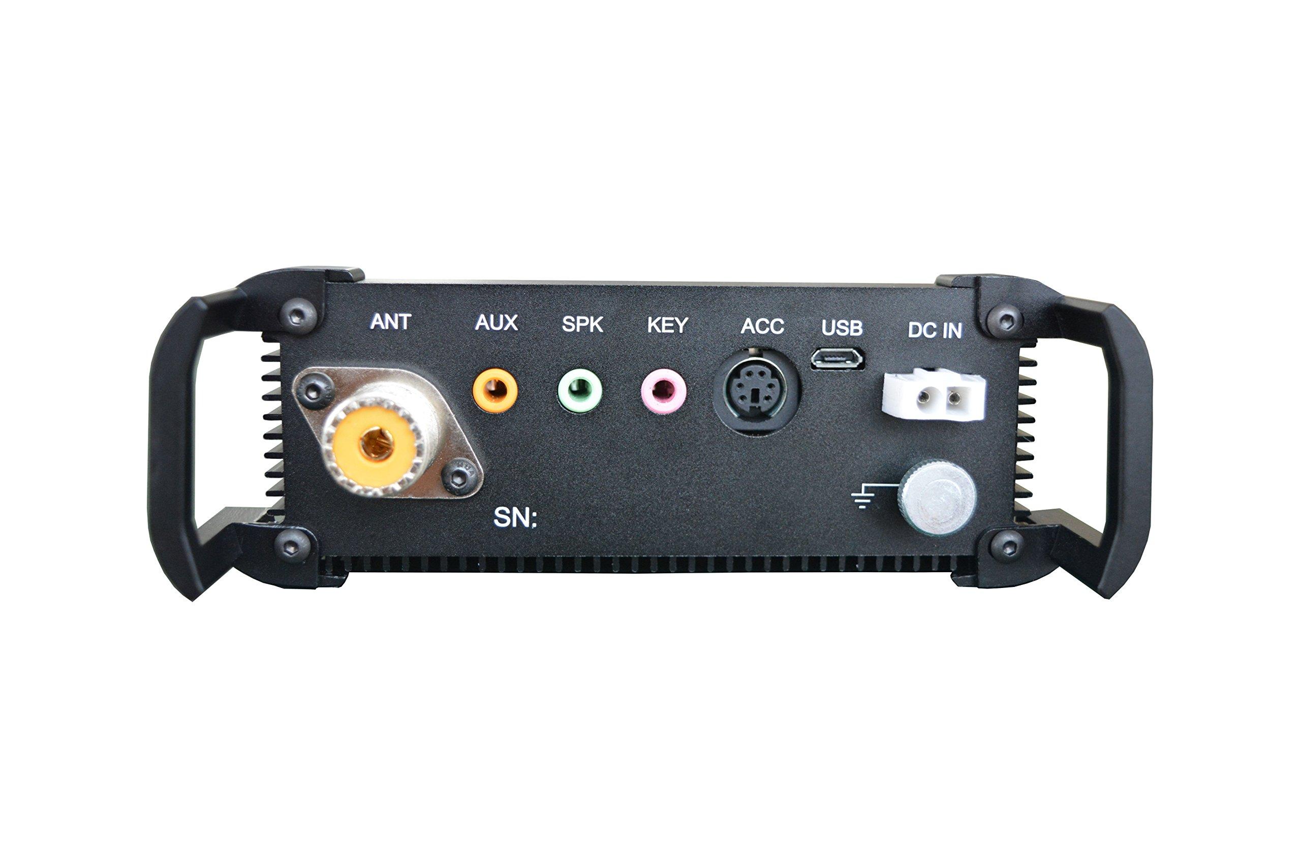 Xiegu X-108G QRP Transceiver Outdoor Version 9 Bands AM/SSB/CW 1-20 watts Black by Xiegu (Image #6)