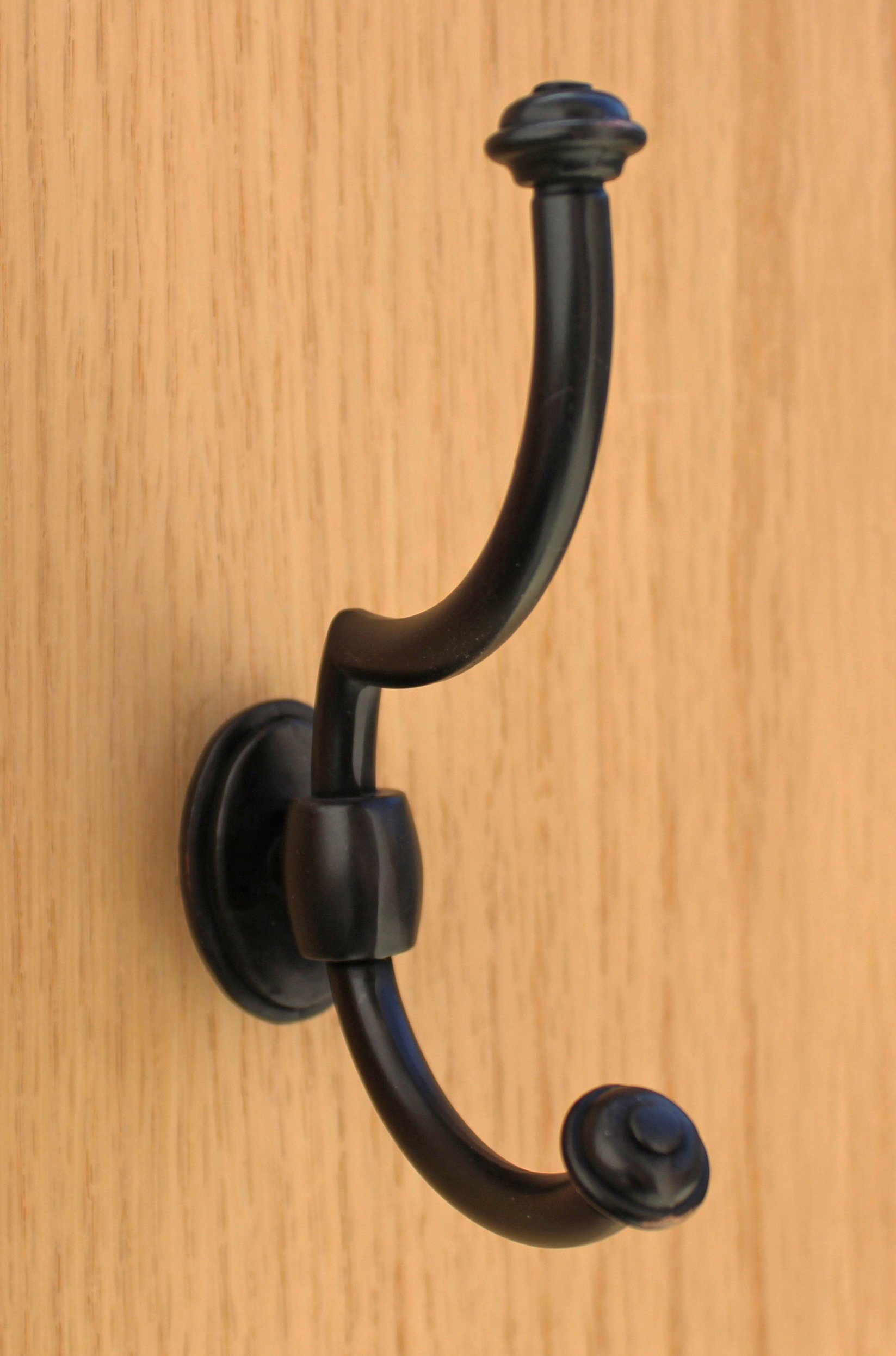 GlideRite Hardware 7502-ORB-50 large 5 x 3.5 inch Oil Rubbed Bronze Robe/COAT Hooks 50 Pack by GlideRite Hardware (Image #5)