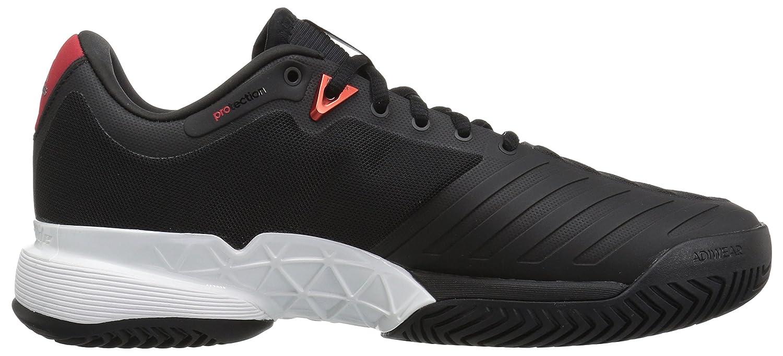 promo code f41ab 37740 Zapatillas de tenis adidas Barricade 2018 para hombre Núcleo Negro   Blanco    Escarlata