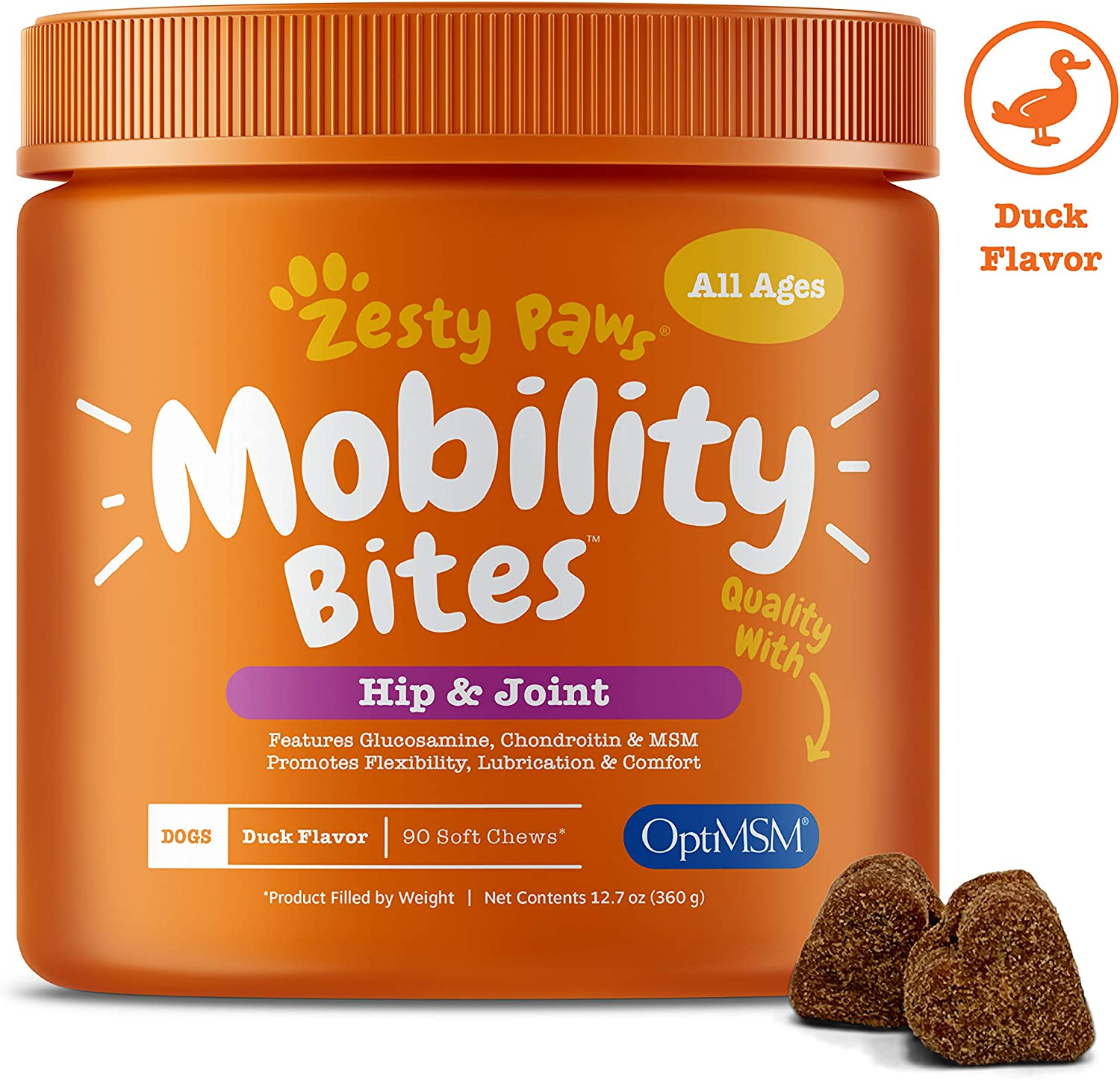 Zesty Paws Senior Mobility Supplement