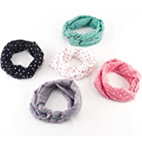 Bekith Baby Girl Newest Turban Headband Head Wrap Knotted Hair Band, Set of 5