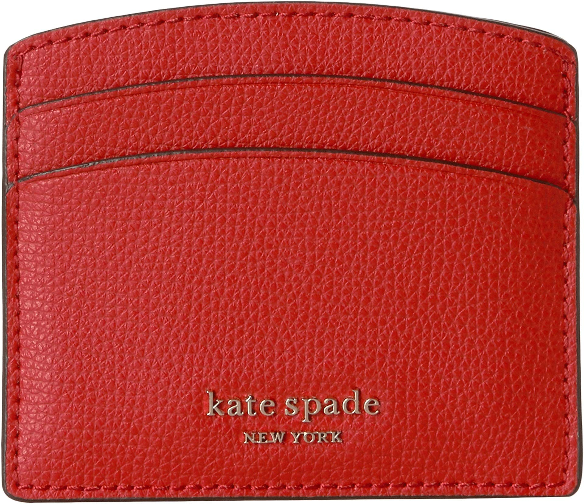 Kate Spade New York Women's Sylvia Card Holder, Hot Chili, Red, One Size