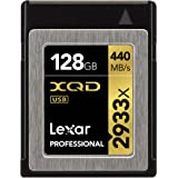 Lexar Professional 2933x 128GB XQD 2.0 Card (Up to 440MB/s Read) w/Free Image Rescue 5 Software - LXQD128CRBNA2933
