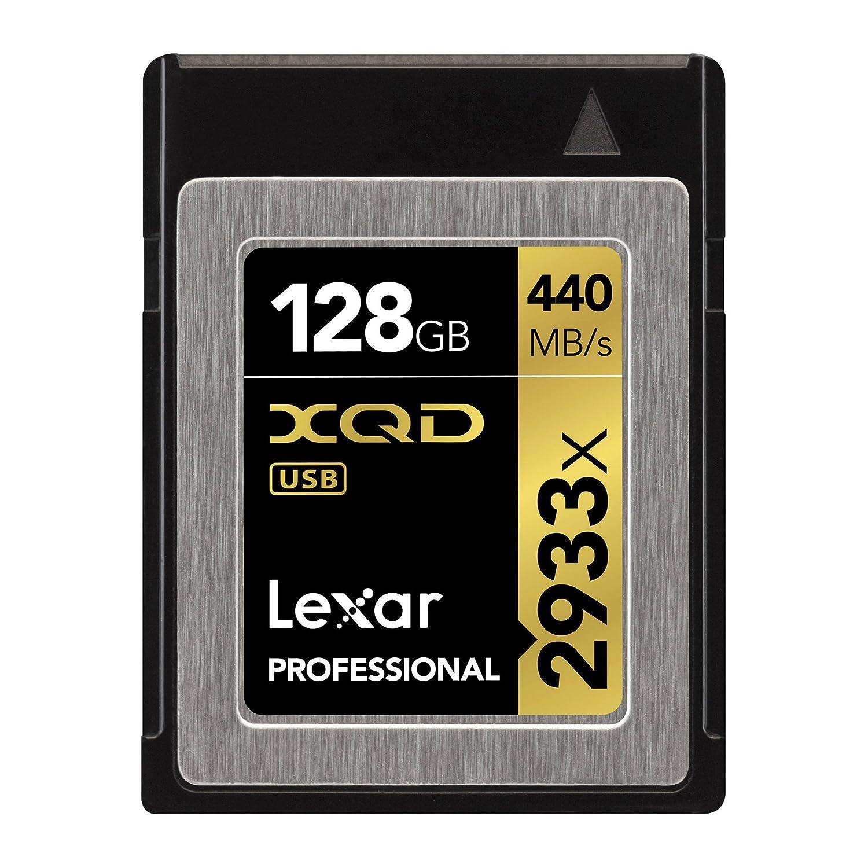 Lexar Profesional 2933 X 32 GB XQD 2.0 Tarjeta (hasta 440 MB ...