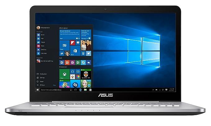 """80 opinioni per Asus N752VX-GC234T Portatile, 17.3"""", Intel Core i7-6700HQ, RAM 16 GB, HDD da 1"""