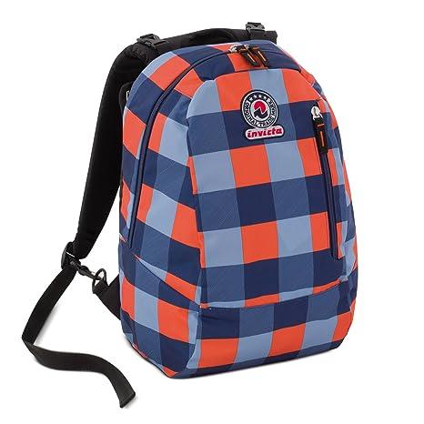 bfae7e4b55 invicta Zaino TWIST - blue double face - 2 zaini in 1 - REVERSIBILE  backpack 26
